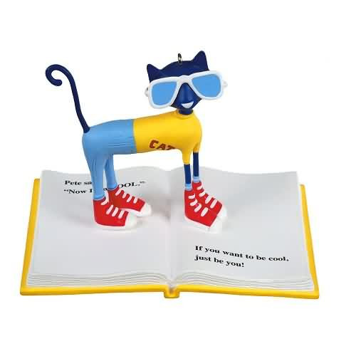 2020 Pete the Cat Hallmark ornament (QXI6141)