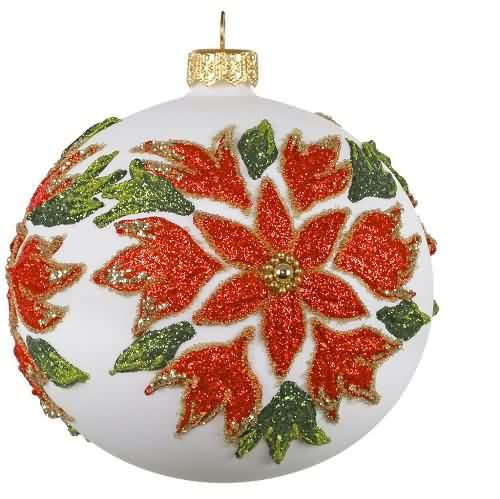 2020 Poinsettia Ball Hallmark ornament (QK1391)