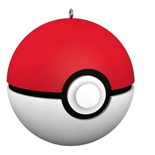 2020 Pokemon Poke Ball - Ltd Hallmark ornament (QXE3274)