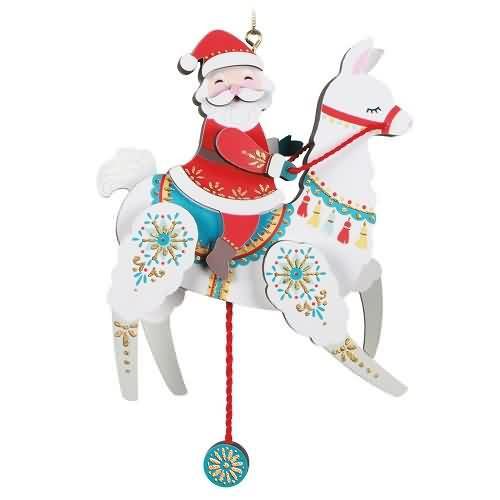 2020 Pull-String Llama Hallmark ornament (QK1364)
