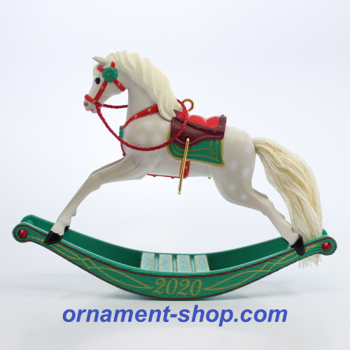 2020 Rocking Horse Memories #1 Hallmark ornament (QXR9344)