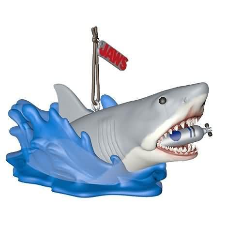 2020 Shark Attack - Jaws Hallmark ornament (QXI2551)
