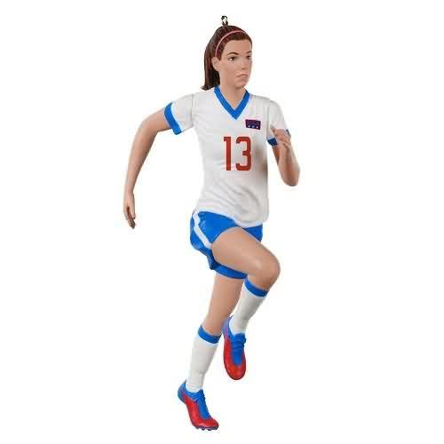 2020 Soccer - Alex Morgan Hallmark ornament (QXI6211)