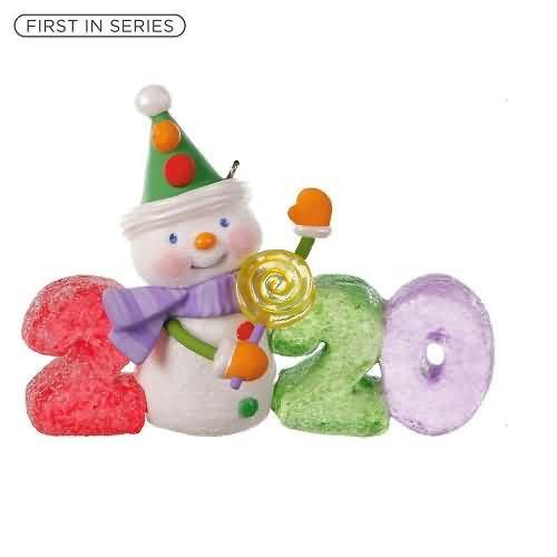 2020 Sweet Decade #1 Hallmark ornament (QXR9134)