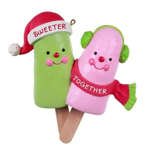 2020 Sweeter Together Hallmark ornament (QGO1904)