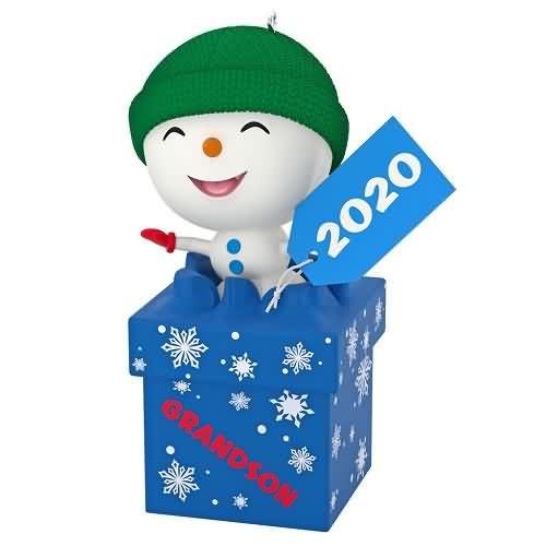 2020 The Gift of Grandsons Hallmark ornament (QGO1711)