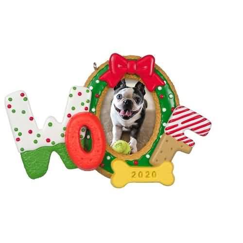 2020 Woofy Christmas Hallmark ornament (QGO1724)