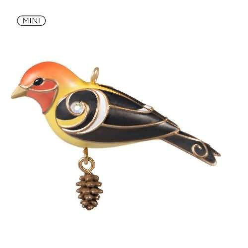 2020 Beauty of Birds - Western Tanager Hallmark ornament (QXM8274)