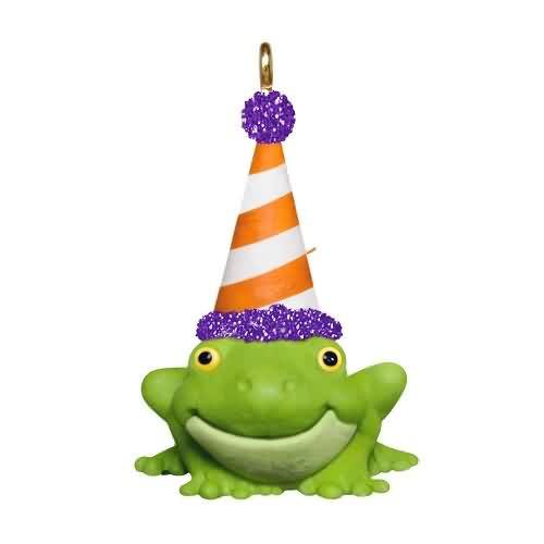 2020 Halloween - Tiny Toad Hallmark ornament (QFO5261)