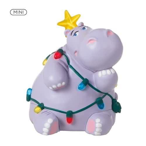 2020 Holiday Hippo Hallmark ornament (QXM8311)