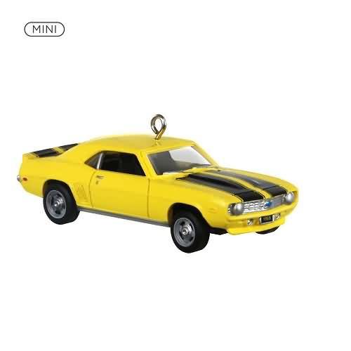 2020 Lil' Classic Cars #3 - 1969 Chevrolet Camaro Hallmark ornament (QXM8201)