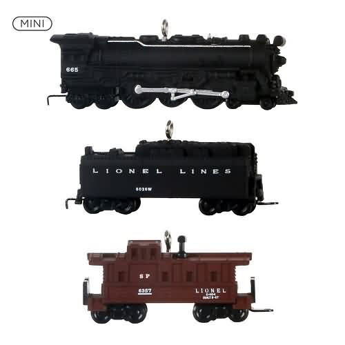 2020 Lionel 2201WS Fireball Express set Hallmark ornament (QXM8204)