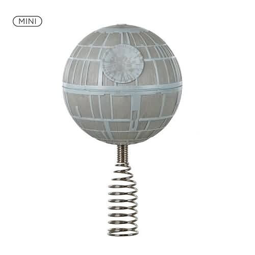 2020 Miniature Death Star Tree Topper Hallmark ornament (QSB6241)
