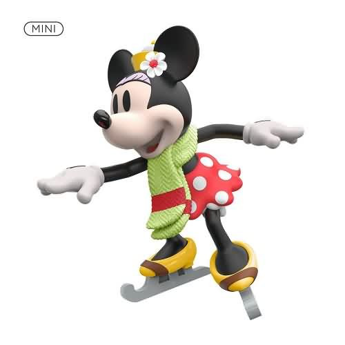 2020 Minnie on Ice Hallmark ornament (QXM8171)