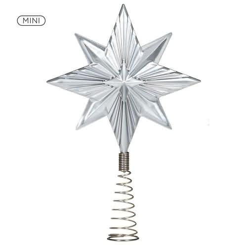 2020 Radiant Mini Tree Topper Hallmark ornament (QSB6281)