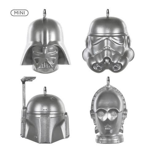 2020 Star Wars Miniature Ornament Set Hallmark ornament (QXM8351)