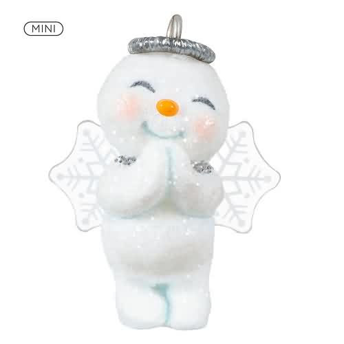 2020 Sweet Lil' Snow Angel Hallmark ornament (QXM8301)