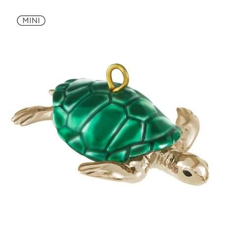 2020 Teeny Turtle Hallmark ornament (QXM8324)