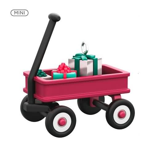 2020 Wee Red Wagon Hallmark ornament (QXM8221)