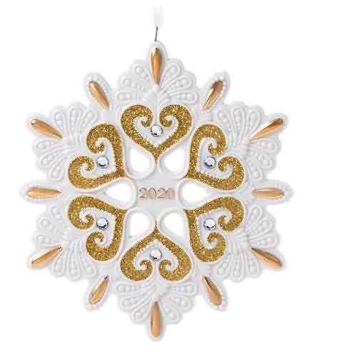 2020 2020 Snowflake Hallmark ornament (QGO1754)