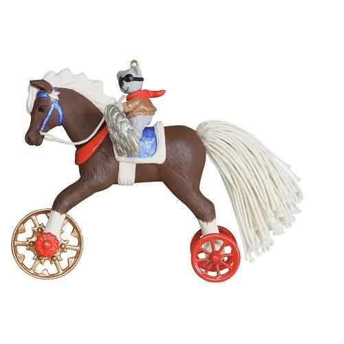 2020 A Pony for Christmas #23 Hallmark ornament (QXR9104)