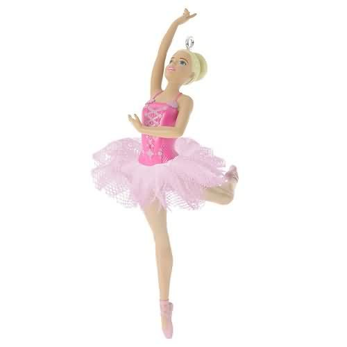 2020 Barbie - Beautiful Ballerina Hallmark ornament (QXI2561)