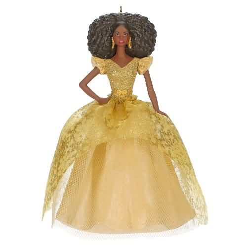 2020 Barbie - Holiday #6 - African American (QXR9274)