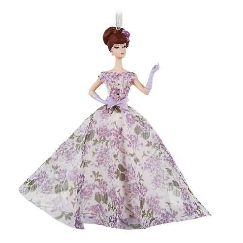 2020 Barbie - Violette Barbie Hallmark ornament (QK1324)