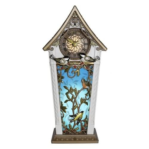 2020 Beauty of Birds Clock Hallmark ornament (QFM3354)