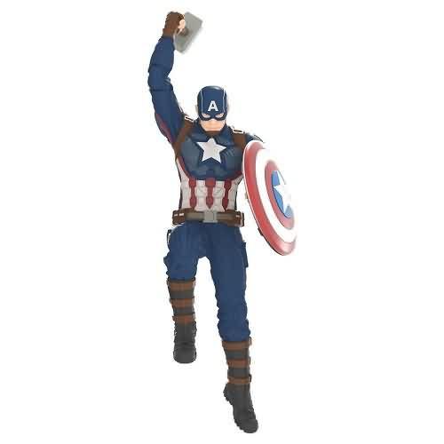2020 Captain America Hallmark ornament (QXI6191)