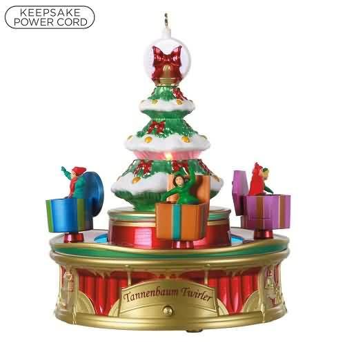 2020 Christmas Carnival #3 - Tannenbaum Twirler Hallmark ornament (QXR9291)
