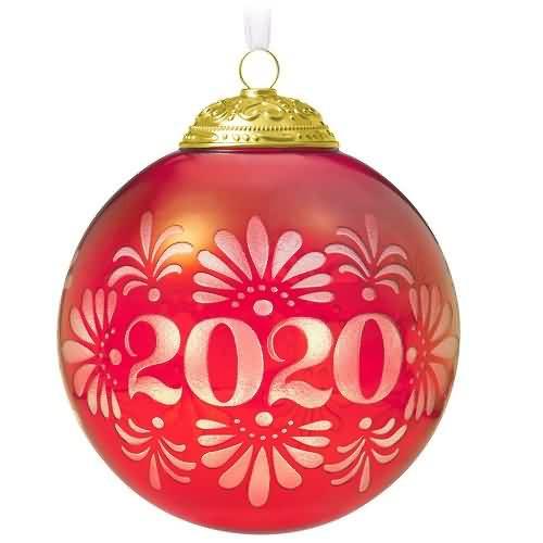 2020 Christmas Commemorative #8 Hallmark ornament (QXR9311)