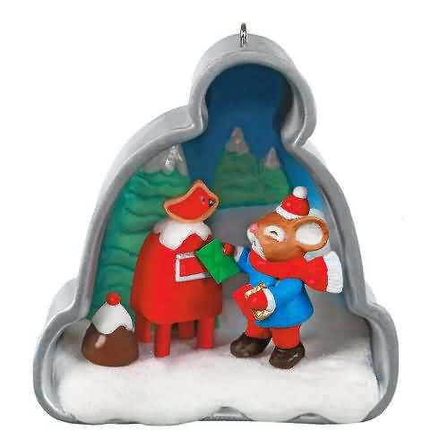 2020 Cookie Cutter Christmas #11 - Mail Hallmark ornament (QXR9301)