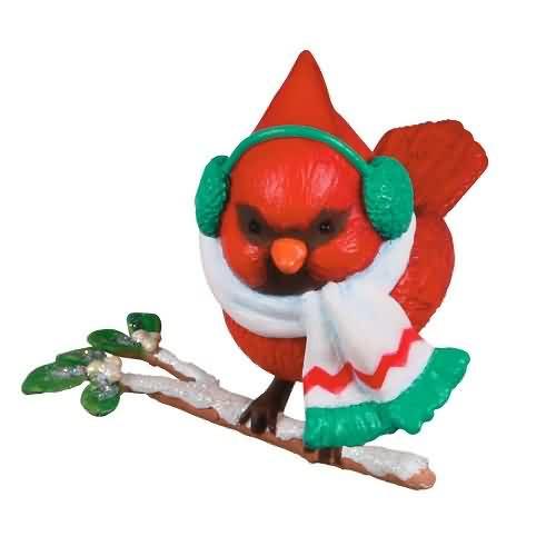 2020 Cozy Critters #4 - Cardinal Hallmark ornament (QXR9304)