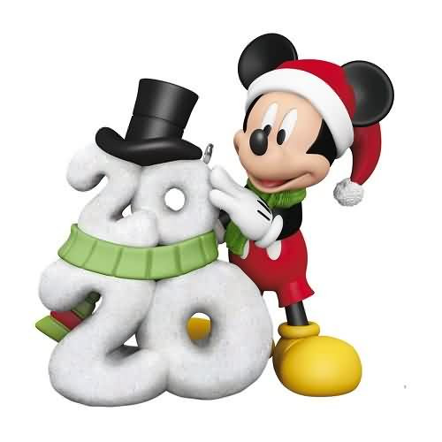 2020 Disney - A Year of Disney Magic Hallmark ornament (QXD6451)