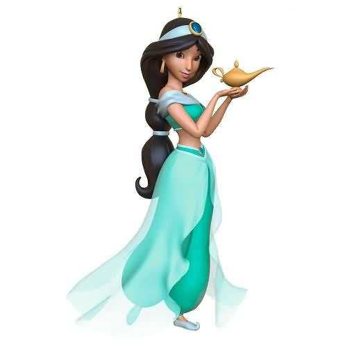 2020 Disney - Aladdin - Jasmine Hallmark ornament (QXD6471)