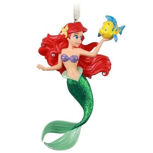 2020 Disney - Ariel and Flounder Hallmark ornament (QK1314)