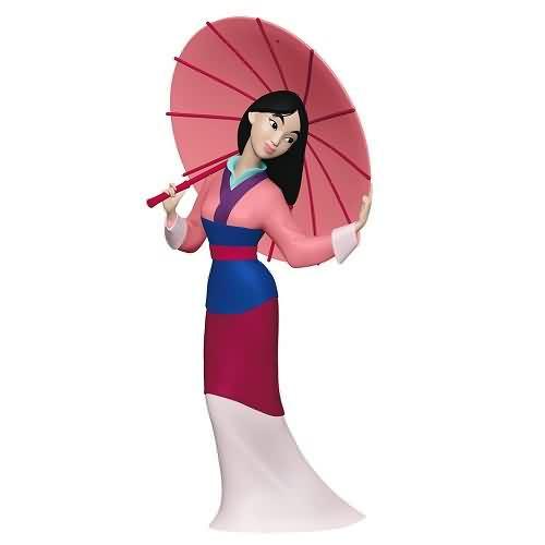 2020 Disney - Fa Mulan Hallmark ornament (QXD6299)