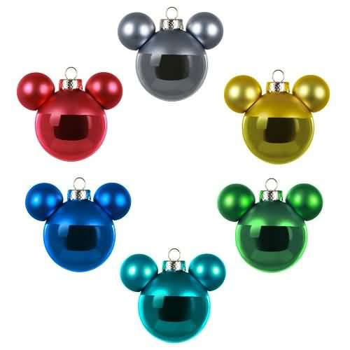 2020 Disney - Mickey Mouse Ornament Set Hallmark ornament (QSB6621)