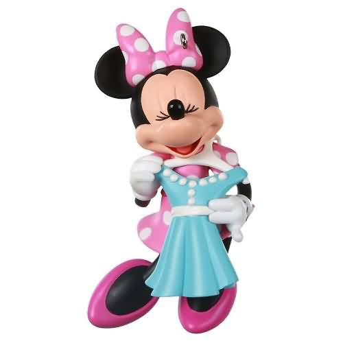 2020 Disney - Minnie - All Dressed Up Hallmark ornament (QXD6441)