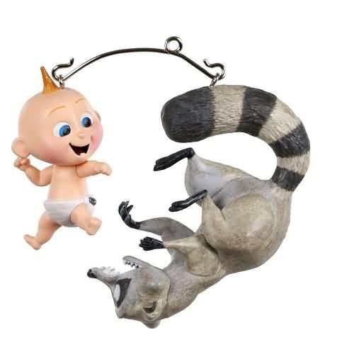 2020 Disney - The Incredibles - Jack-Jack vs. Raccoon Hallmark ornament (QXD6494)