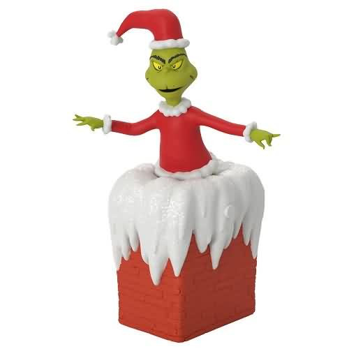 2020 Dr Seuss - You're a Mean One, Mr. Grinch Hallmark ornament (QXI6144)