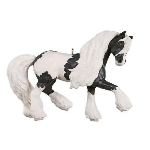2020 Dream Horse - Gypsy Vanner Hallmark ornament (QGO1781)