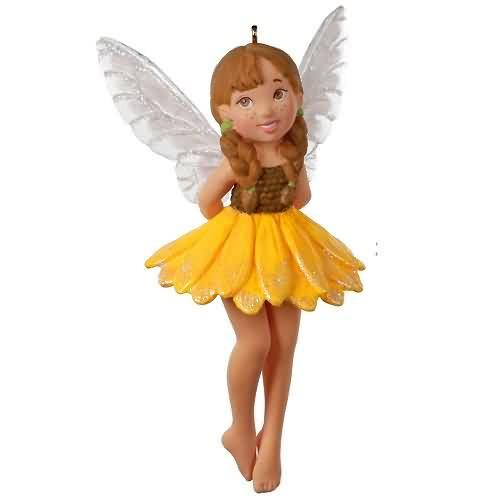 2020 Fairy Messenger #16 - Sunflower Fairy Hallmark ornament (QXR9191)