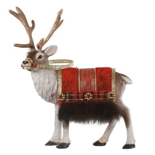 2020 Father Christmas Reindeer - Limited Hallmark ornament (QXE3264)