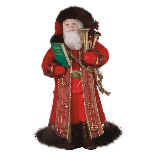 2020 Father Christmas #17 Hallmark ornament (QXR9124)