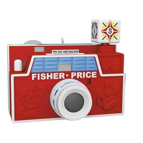2020 Fisher Price - Toy Camera Hallmark ornament (QXI2641)