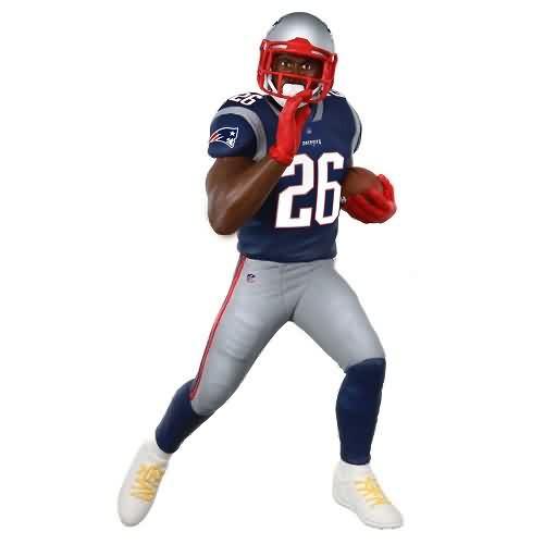 2020 Football - Sony Michel New England Patriots Hallmark ornament (QXI2754)