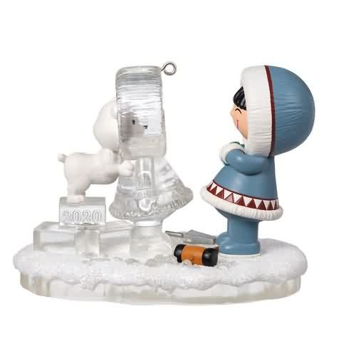 2020 Frosty Friends #41 - Fountain Hallmark ornament (QXR9171)