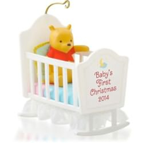 2014 Babys 1st Christmas - Winnie the Pooh